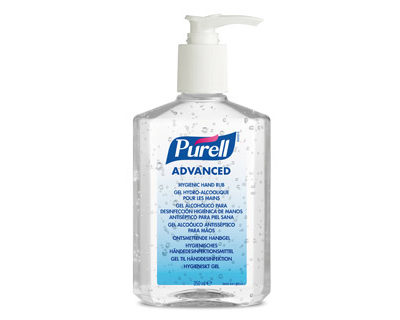 Gel hidroalcoholico purell desinfectante de manos bote de 350 ml